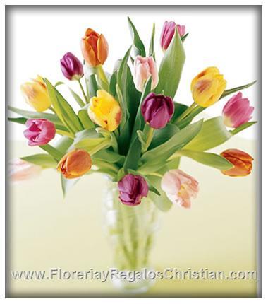 Florero de Tulipanes - F5