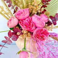 Estilo Boho & Flores Naturales