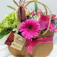 Ahora puedes enviar a domicilio esta hermosa bolsa de flores surtidas.