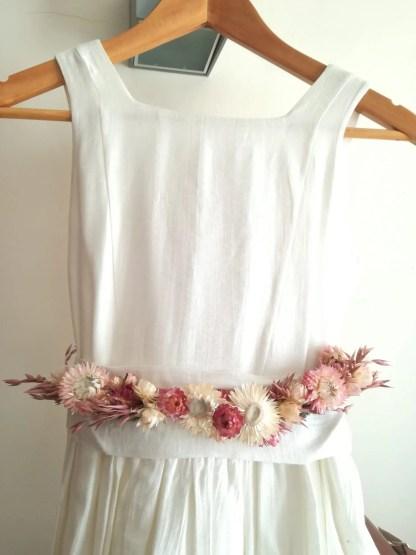 cinturon floral