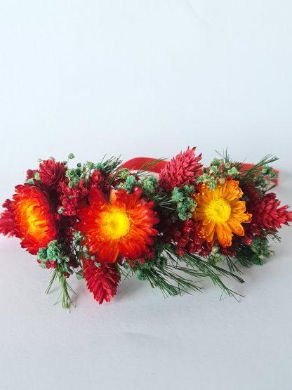 pulsera flores preservadas