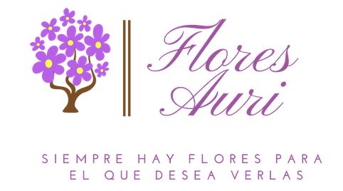 Logotipo Flores Auri - floristeria online en vigo