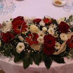 Centros de mesa. Flores del Patio