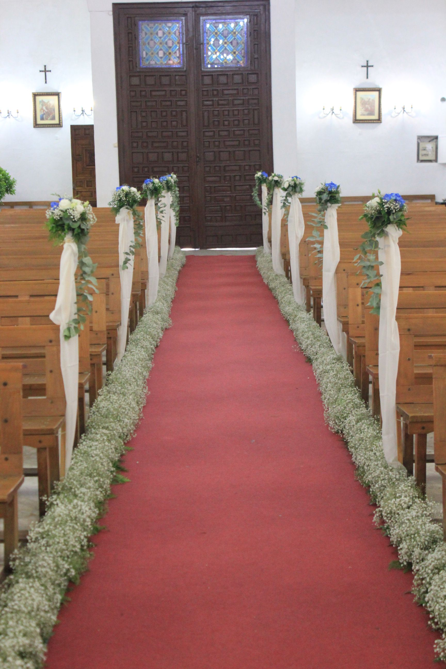 ceremonia religiosa Flores del Patio