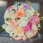 tipos de ramos rosas posy bouquet