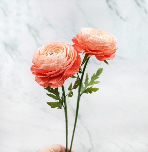 crepe paper bouquet, marimoñas de papel crepé