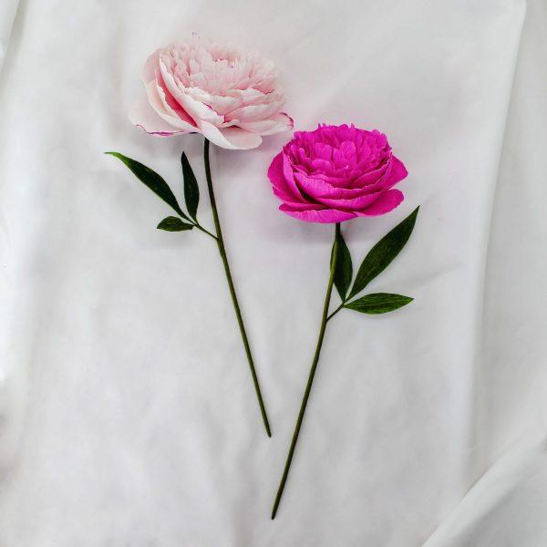 flores para siempre, flores de papel crepé, arte floral en papel, diseño floral en papel, peonías de papel crepé realistas para comprar