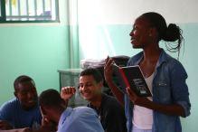 Workshop avec les étudiants des écoles partenaires de Music Fund