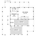 Sunchase Coastal Home First Floor Plan