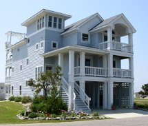 Elevated Beach House Floor Plans