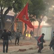 Tunis - Barrikaden
