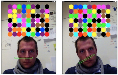 iOS Game Face Breakout