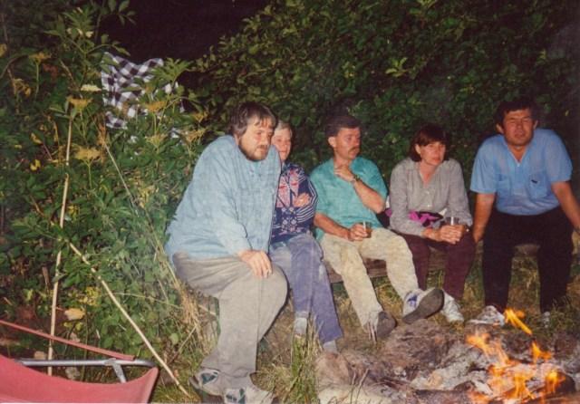 1994r. - lipiec - otwarcie Chatki - 10 lat ATCH