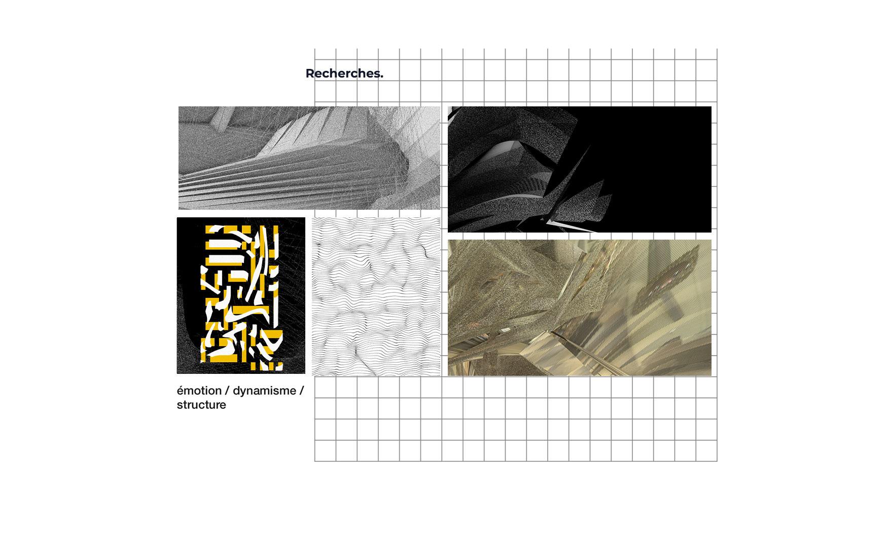 Recherches projets publicité graphisme sur Aix-en-Provence Territoires sonores