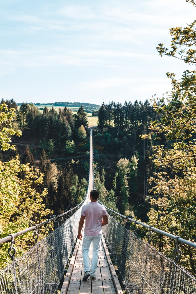 Besuch der Hängeseilbrücke Geierlay florianventures 3