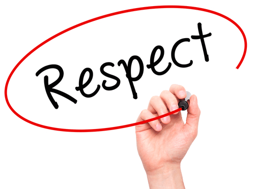 Receive with Respect  Vistage Florida Executive Coaching