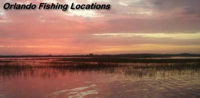 Orlando Fishing locations