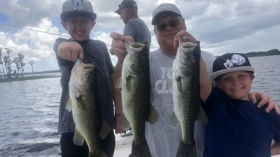 Orlando Birthday Bass Fishing