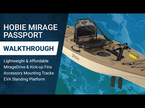 Hobie Mirage Passport Kayak: Tricked Out, Custom Rig for Offshore Fishing