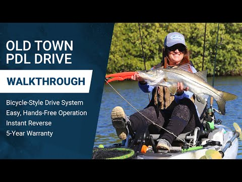 Old Town PDL Drive: Benefits of Pedal-Driven Kayak Power