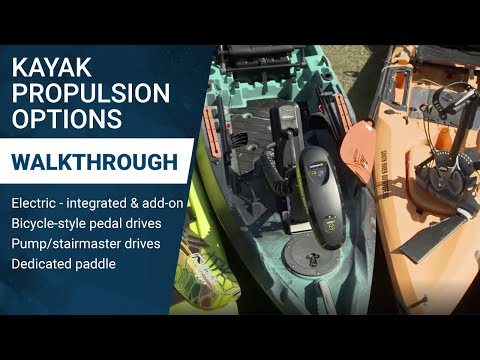 Kayak Propulsion Options: Paddle, Pedal or Power? Which is Best for You?