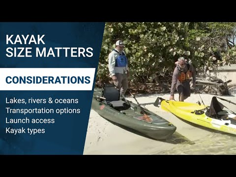 Why Kayak Size Matters: What to Consider When Purchasing a Kayak