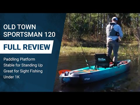 Old Town Sportsman 120 Kayak Review: Ultra Stable, Affordable & Customizable Paddle Platform
