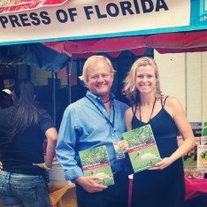 James Kushlan and Kirsten Hines, coauthors of Attracting Birds to South Florida Gardens