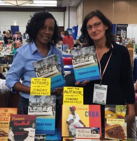 Cynthia Wilson-Graham and Lu Vickers, coauthors of Remembering Paradise Park