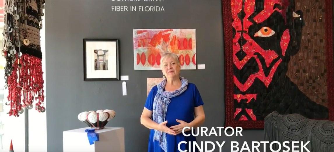 curator cindy bartosek at florida craftart