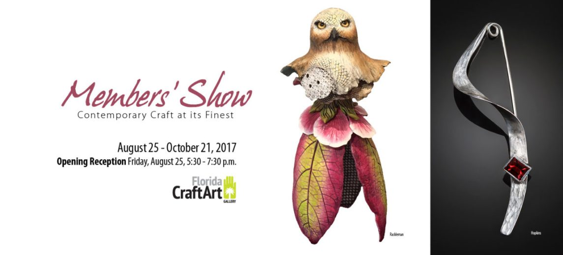Florida CraftArt Members Show and Sale