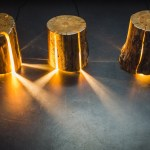 Duncan Meerding Cracked Log Lamp