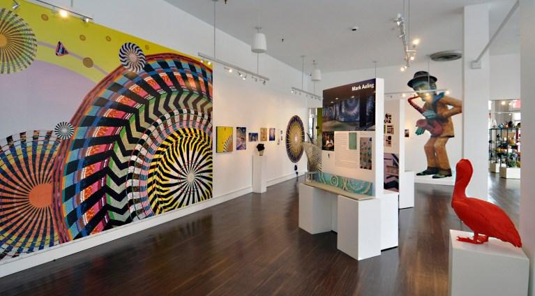 Public Art Gallery at Florida CraftAft