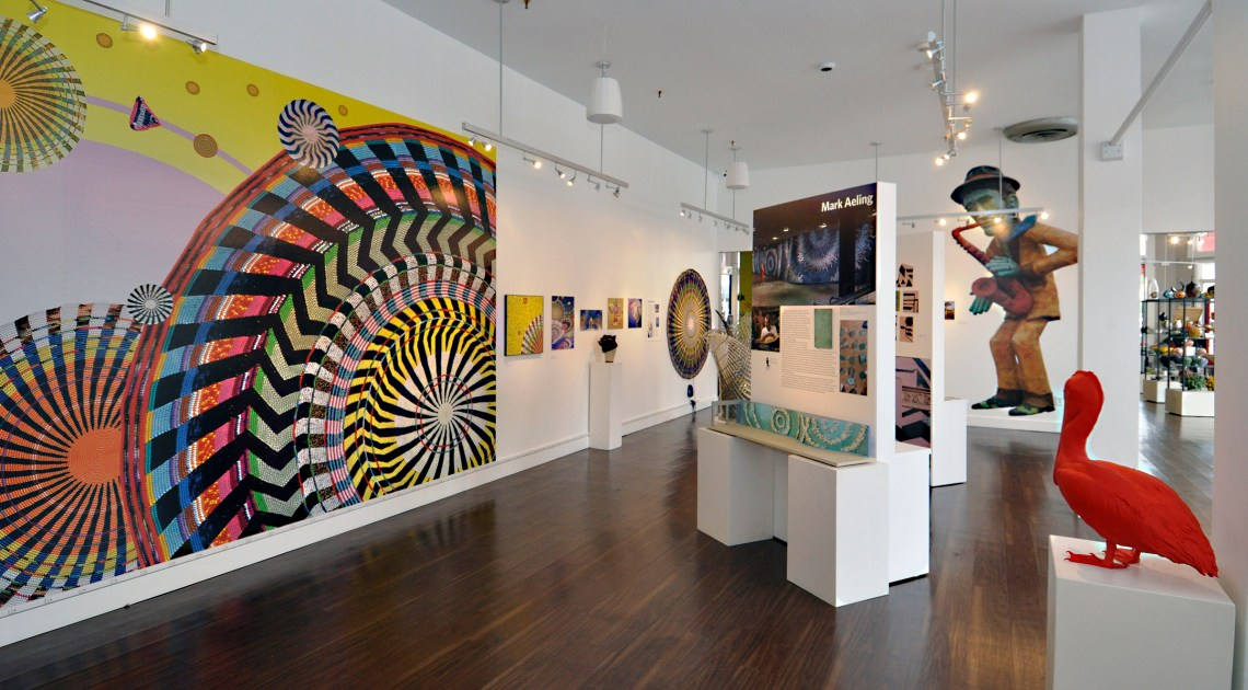 Public Art Gallery at Florida CraftAft
