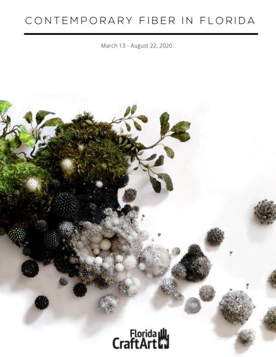 Contemporary Fiber in Florida Exhibition book Cover