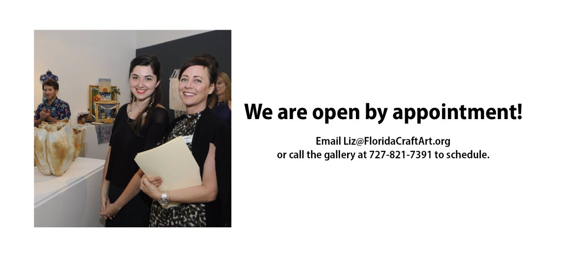 We are open by appointment!