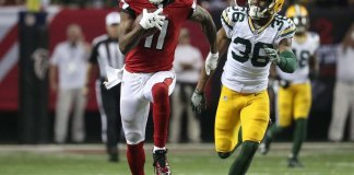 Atlanta Routs Packers 44-21 for NFC Title