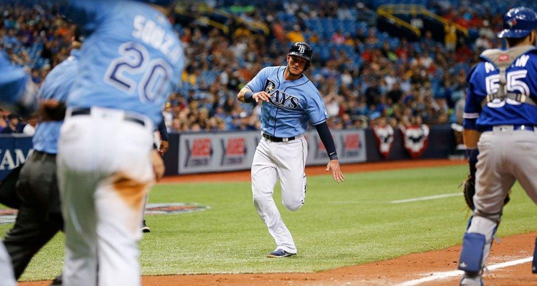 Souza Hit 3-Run Homer, Tampa Bay Rays Beat Blue Jays 7-2