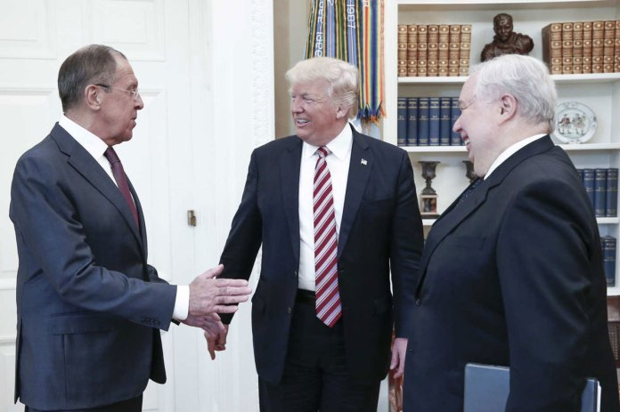 Trump Revealed Intelligence Secrets to Russians in Oval Office