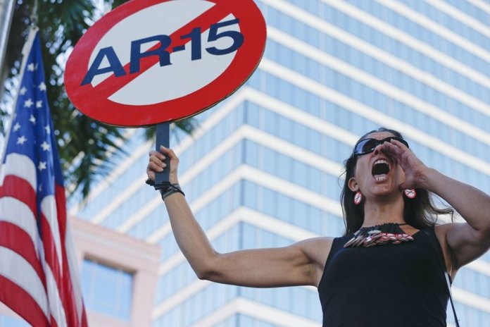 Calls for Gun Control Grow Louder after Parkland High School Shooting