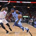 Johnson Scores 23 to Help Heat Beat Reeling Grizzlies 115-89