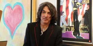 Paul Stanley of KISS Has Solo Art Exhibits in South Florida's Wentworth Galleries