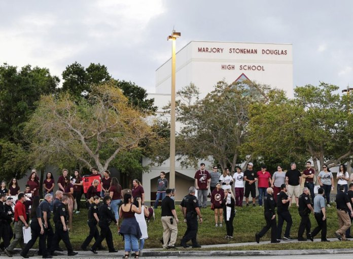 Picture of Education in Fear as Classes Resumed at Marjory Stoneman Douglas High School