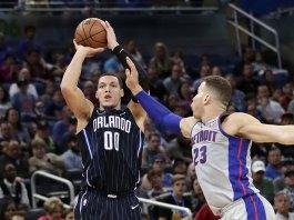 Gordon, Magic Stop 7-Game Skid, Beat Pistons 115-106 in OT