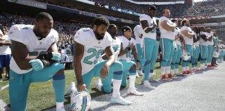 Miami Dolphins Anthem Punishment Includes Suspensions
