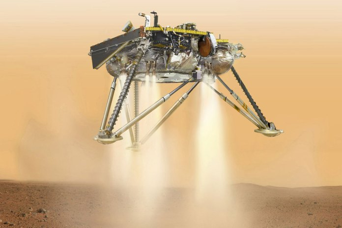 NASA InSight Spacecraft Lands on Mars after Aix-month Journey
