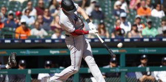 Cooper Hits Slam in 9th, Marlins Top Tigers, 6th Win in Row