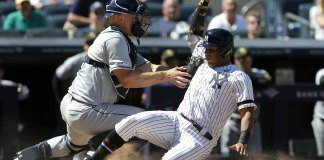 Meadows HR in 11th, Rays Top Yanks 2-1, Back in 1st Place