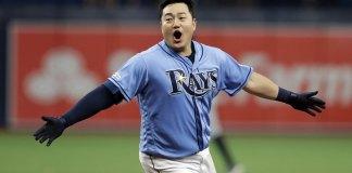 Choi Has 2-run Single in 9th, Rays Beat Tigers 5-4