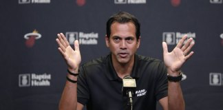 Spoelstra, Heat Heading into Post-Wade Year with Optimism